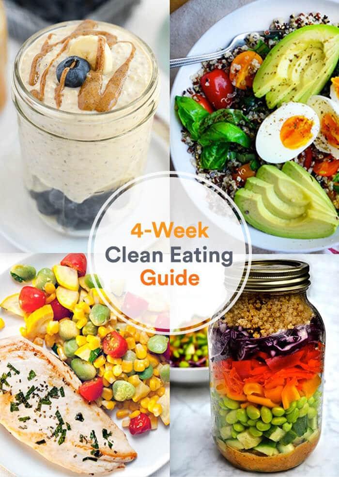 chế độ giảm cân Clean Eating