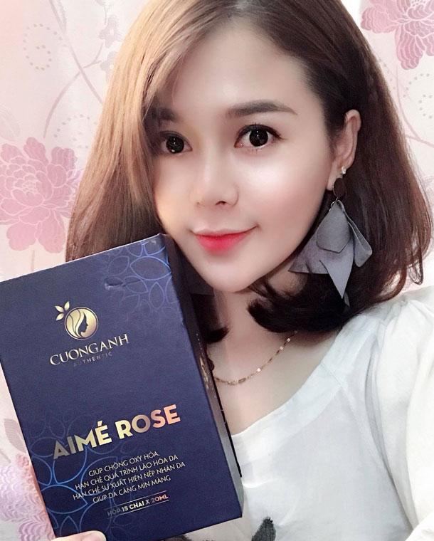 Feedback khách hàng Aime Rose Collagen Cường Anh
